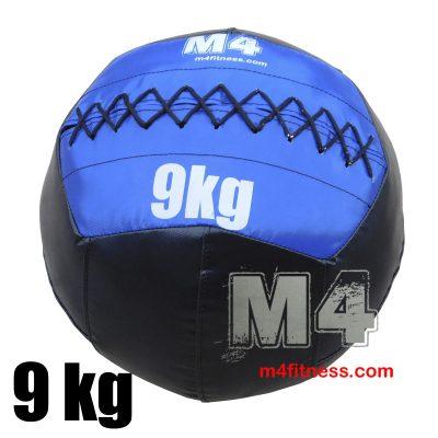 Мяч для кроссфита 9кг - синий