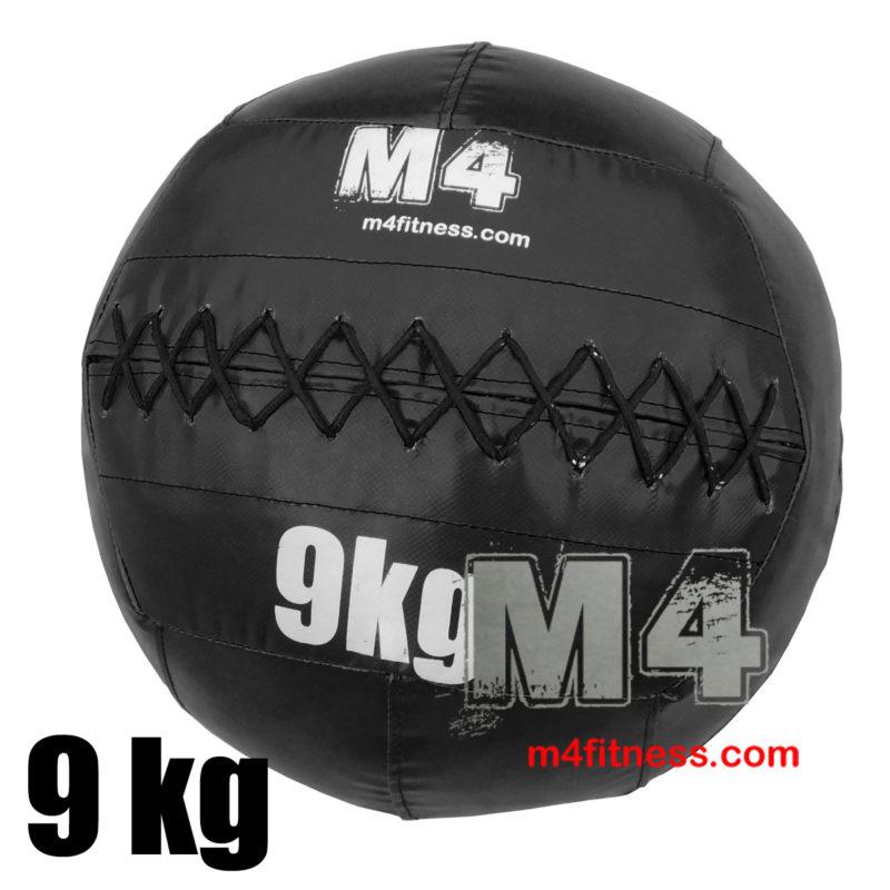 Мяч для кроссфита медбол 9 кг - черный